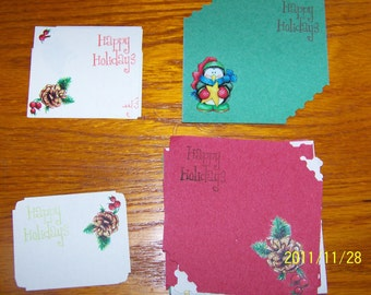 set of 12 gift tags