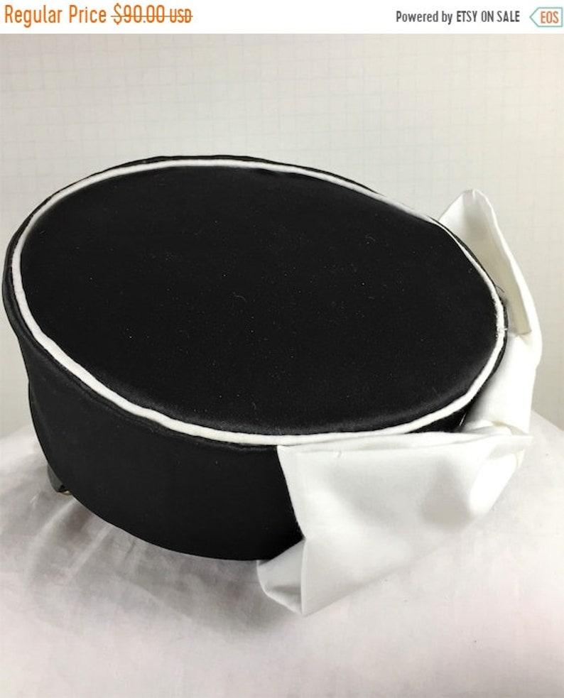 BIG The Patti Hat Hat Pillbox Black Pillbox Black Hat image 1