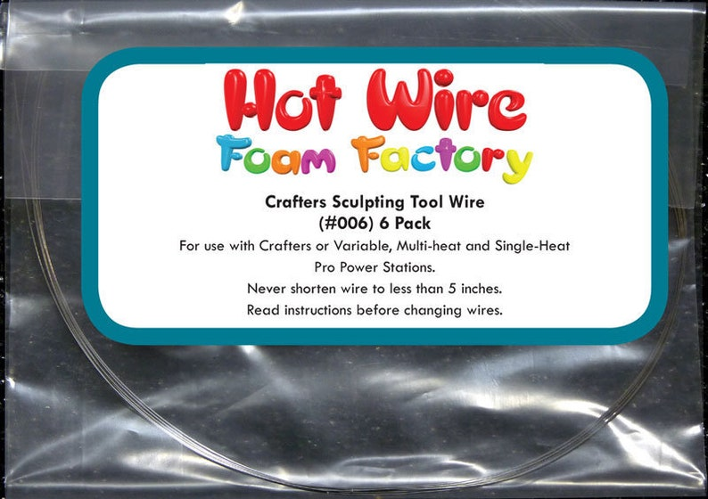 Free Fast Shipping Hot Wire Foam Factory Replacement Crafters Sculpting Tool Wires Set of 6
