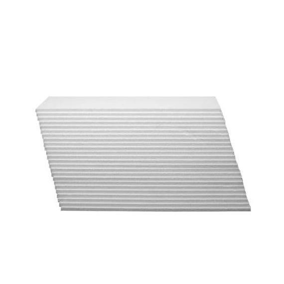 24 White Styrofoam/Polystyrene/EPS Foam Sheets 14 x | Etsy