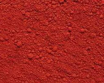 RED Oxide Pigment Color (Matte) 1/2 oz., 1 oz., 2 oz. or larger! Color your cold process soap