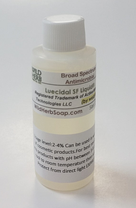 All NATURAL PRESERVATIVE - No Chemicals - Paraben FREE Leucidal (2 oz   liquid) More sizes available!