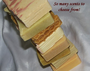 ON SALE: Buy in Bulk! 25 Natural Soap Bars by Cold Process with Pure Essential Oils, Mango Butter & more! Made from scratch ~ Lush Scents!