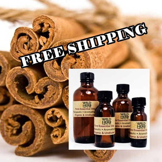 Cinnamon Bark Essential Oil Us Seller! Free Shipping 100% Pure And Natural