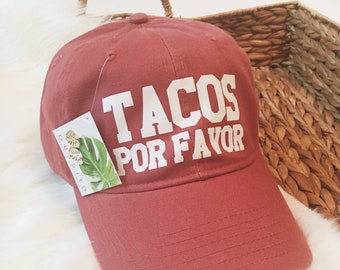 f0fdc3b1 Tacos Hat, Tacoholic, Taco Shirt, Feed Me Tacos and Tell Me Im Pretty, Feed  Me Tacos, 30th Birthday for Her, Mas Tacos Por Favor