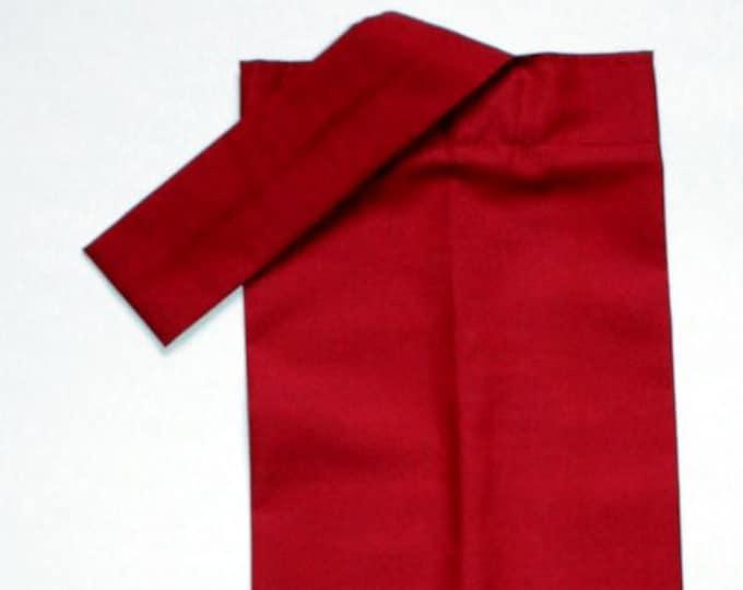 PLASTIC BAG ORGANIZER - Burgundy, Storage, Holder, Bell Art Designs FBH0833