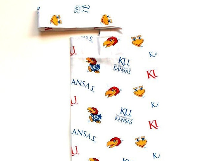 PLASTIC BAG ORGANIZER ~ Kansas, Jayhawks ~ Storage, Holder, Bell Art Designs FBH0557