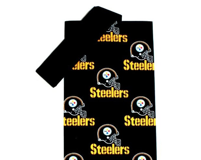 PLASTIC BAG ORGANIZER ~ Pittsburgh Steelers ~ Storage ~ Holder ~ Bell Art Designs FBH0797