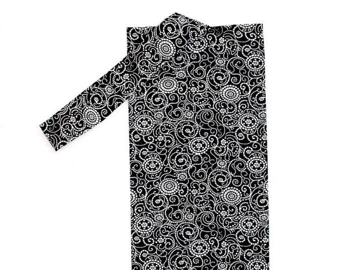 PLASTIC BAG ORGANIZER ~ Black and White Circle Design ~ Storage ~ Holder ~ Bell Art Designs FBH0851