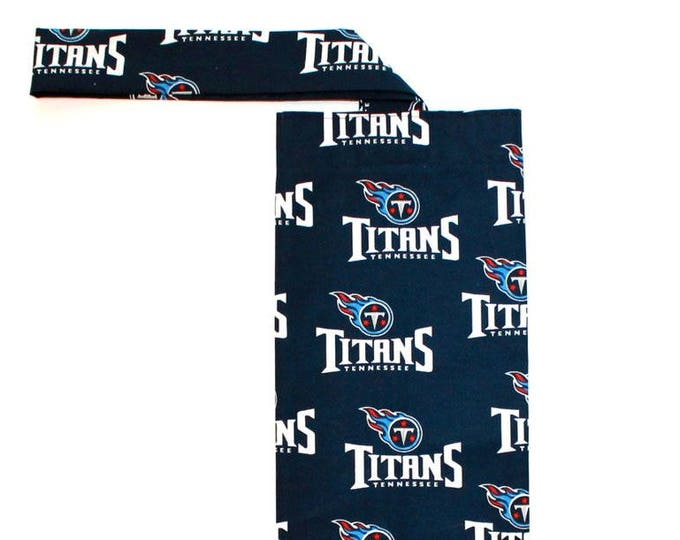 PLASTIC BAG ORGANIZER ~ Tennessee Titans ~ Storage, Holder, Bell Art Designs FBH0475