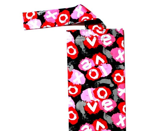 PLASTIC BAG ORGANIZER - Love, Storage, Holder, Bell Art Designs FBH0847