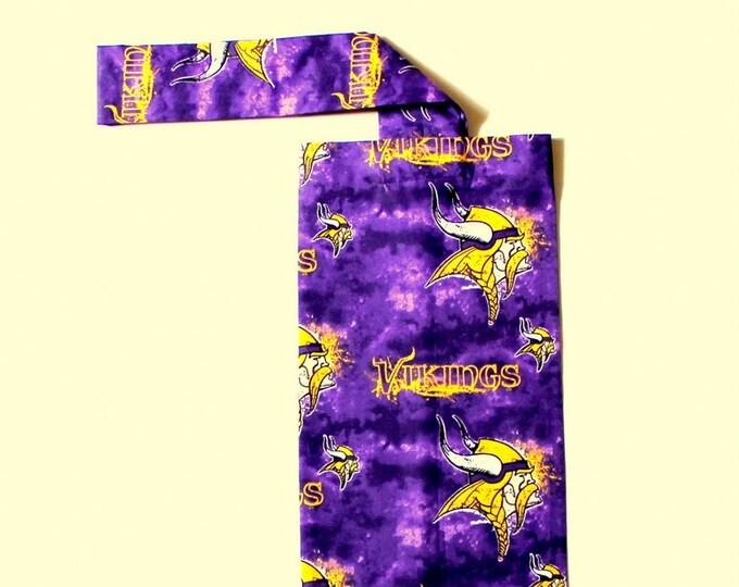 PLASTIC BAG ORGANIZER ~ Minnesota Vikings ~ Storage ~ Holder ~ Bell Art Designs FBH0612