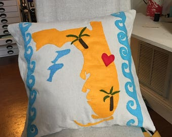 Your Favorite State Pillow Cover