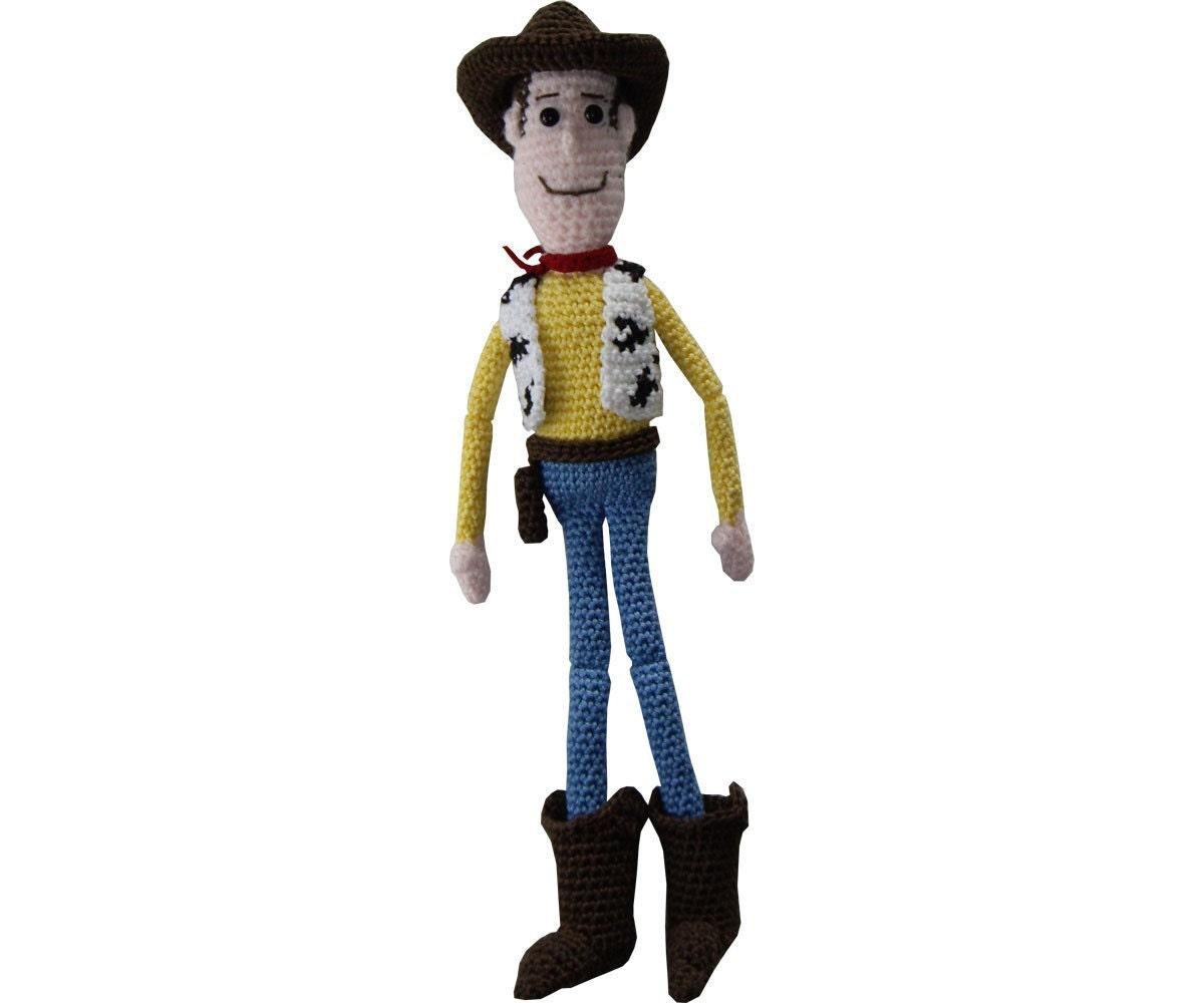 Patrón amigurumi: Woody | Etsy