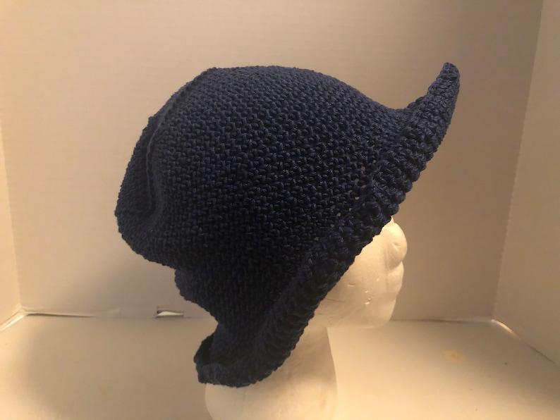 Navy Blue Cotton Destin Beach Hat