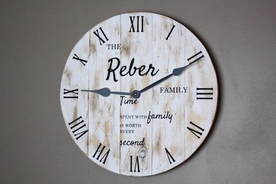 Temps passé avec famille vaut chaque seconde-Applique Murale