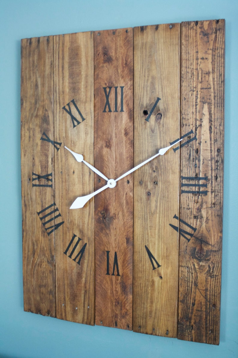 Large Rectangular Wall Clock 36