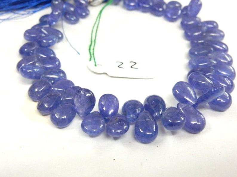 Tanzanite Tanzanite Beads,Tanzanite Tear Drops Gemstone Briolette Beads,Wholesale Tanzanite Pear Drops Beads