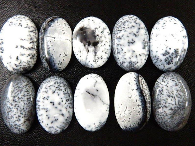 Dendrite Opal Loose Gemstone Cabochon Wholesale Lot