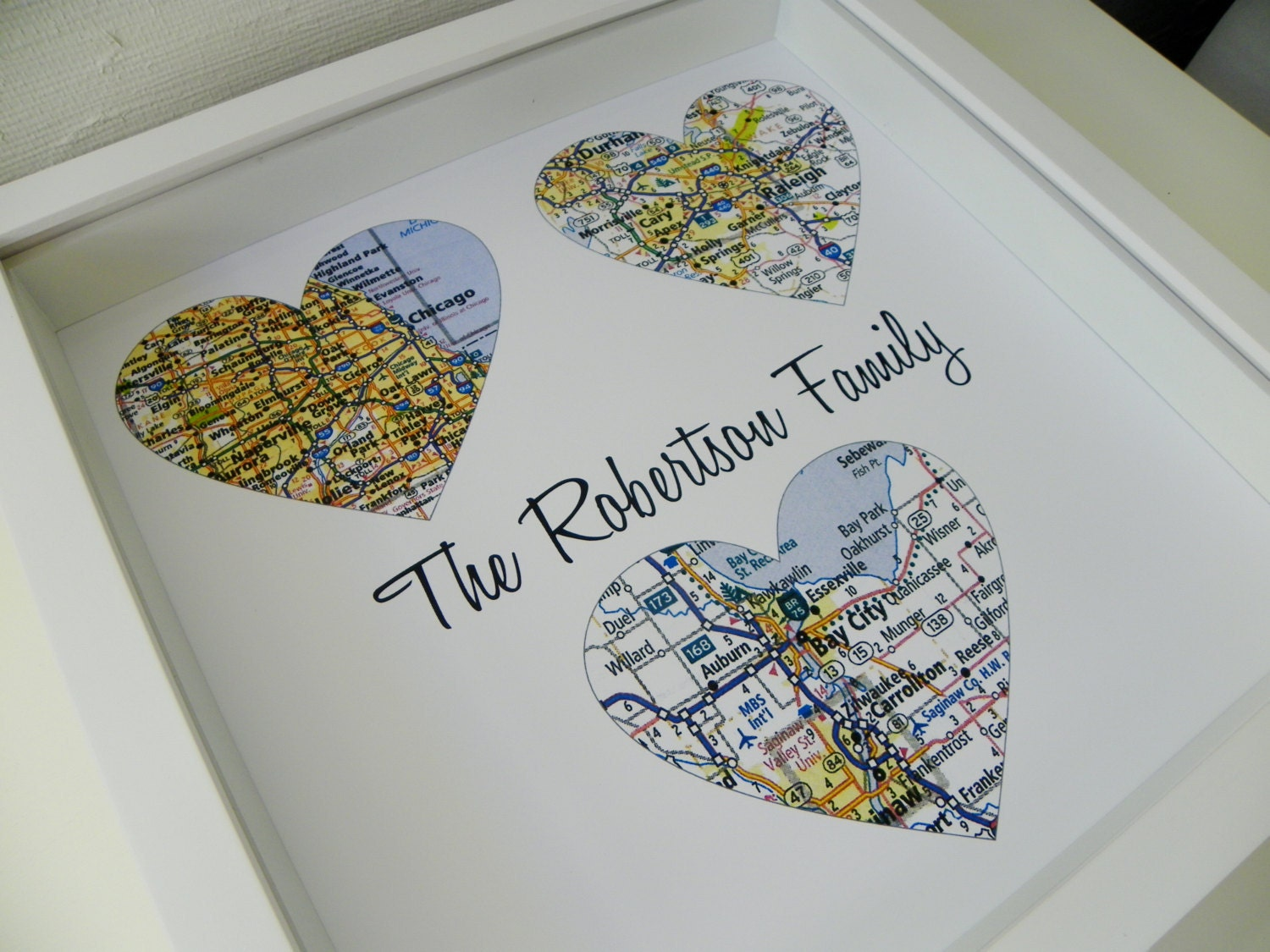 Wedding Gifts For Parents Personalized Map Art Parents Wedding Gift