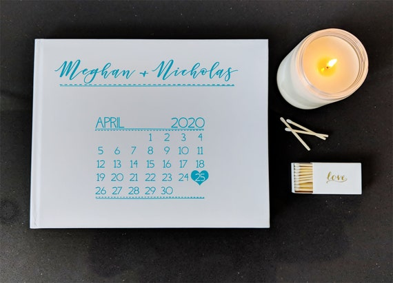 Nautical Lights Navy Blue Photo Prop Guestbook Wedding Sign Print