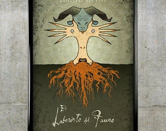 pan s labyrinth 24x36 movie poster etsy