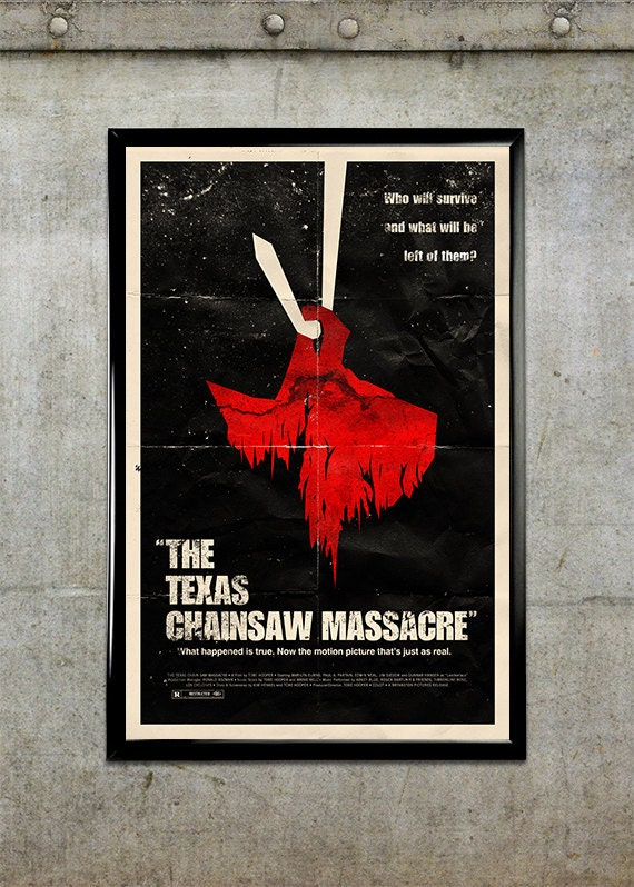 the texas chainsaw massacre 11x17 movie poster etsy