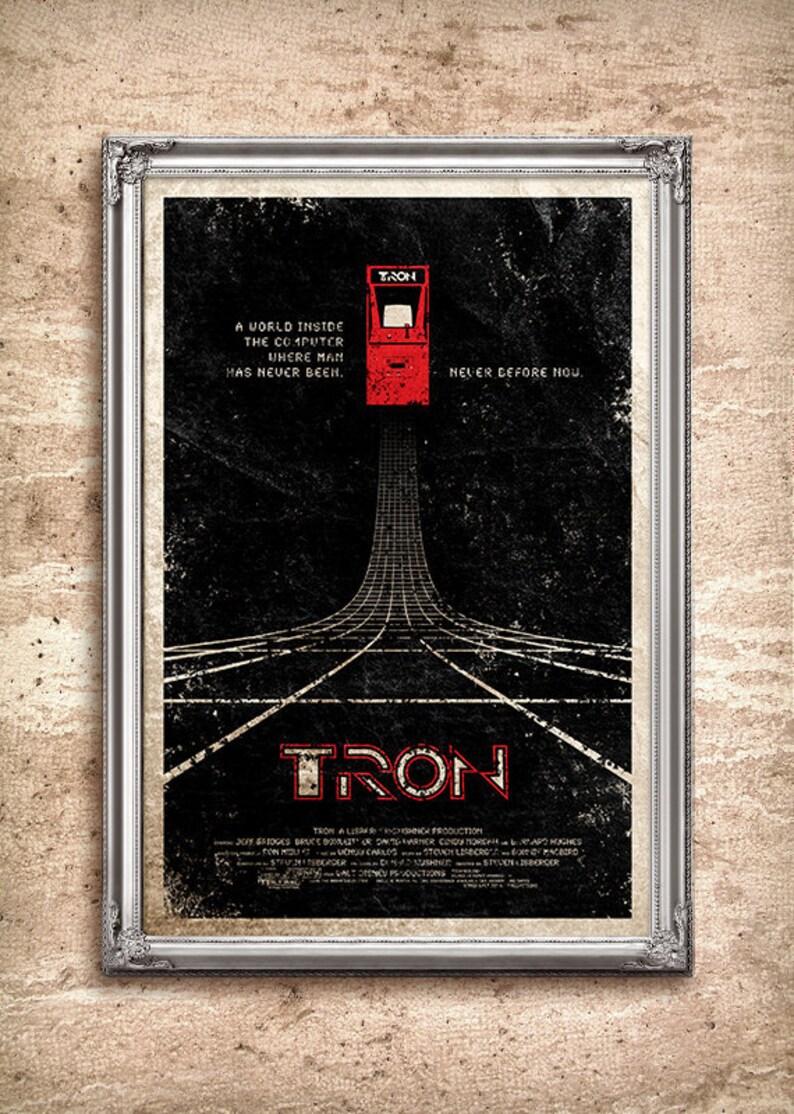 Kunst Tron Movie Poster 24x36