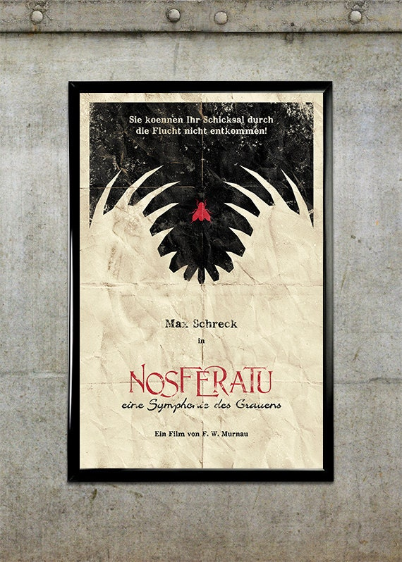 nosferatu 11x17 movie poster etsy