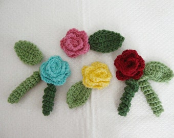 Crochet Fish Applique Pattern Instant Download Etsy