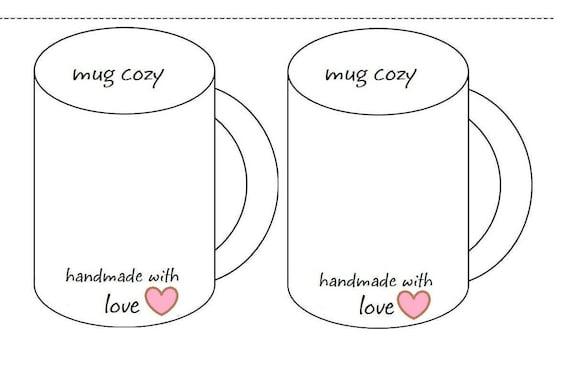 graphic regarding Printable Coffee Mugs referred to as Crochet Espresso Mug Comfy Incorporate For Demonstrating Your Mug Cozies