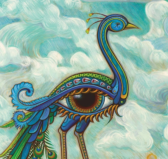 Peacock Eye Bird