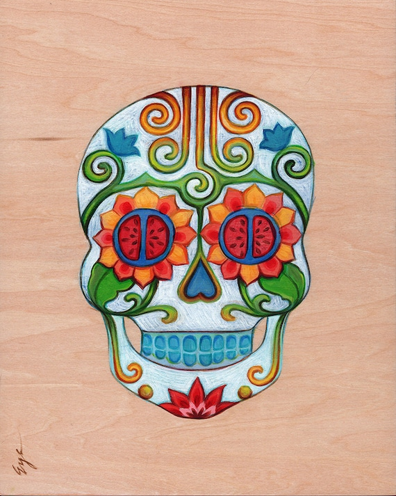 Dia de los Muertos  /  Day of the Dead  /  Calavera  /  Sugar Skull