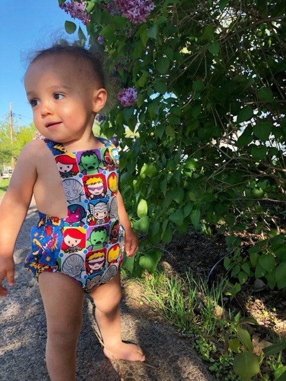 Baby boy superhero add your body head fun gift  BABY BODYSUIT,vest,top,romper