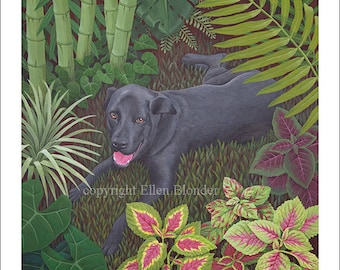 Charlie Dog, Large Giclee Print