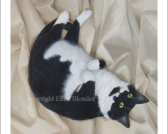 Charlie Cat, Large Giclee Print