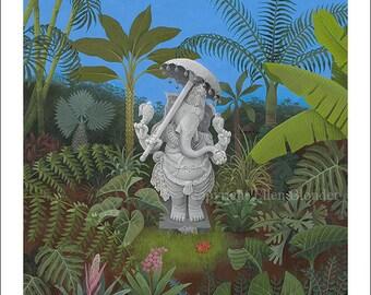 Ganesha, Large Giclee Print