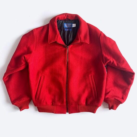 Pendleton Red Wool Coat