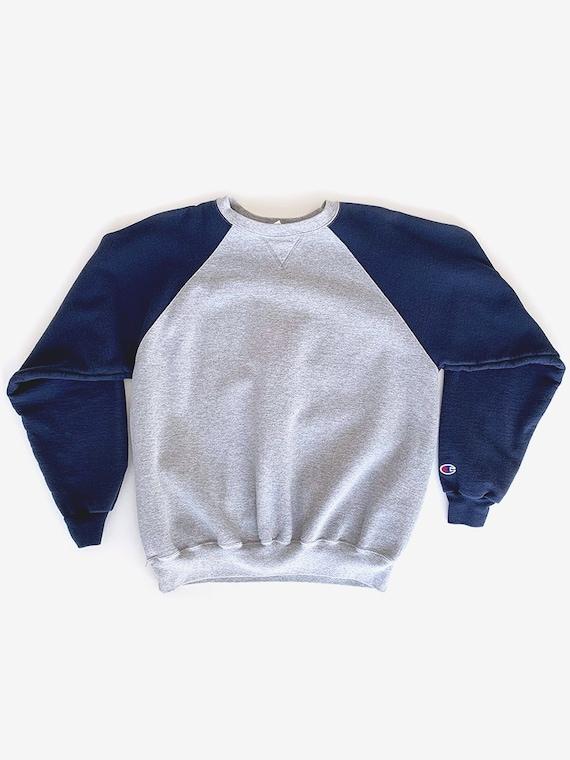 Champion Navy & Grey Sweatshirt