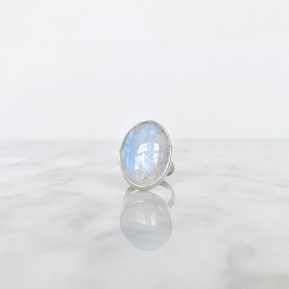 Opal & Silver Ring - image 2