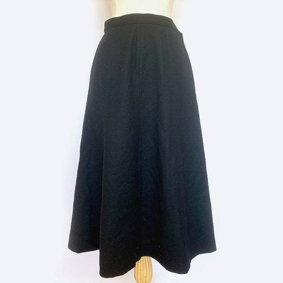 Pendleton Black Circle Skirt