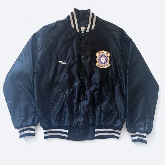 Black Union Satin Jacket