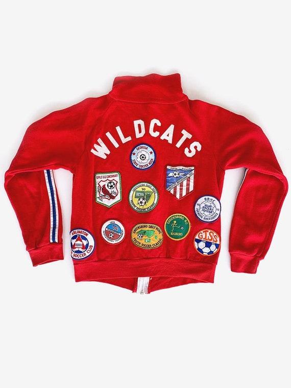 70's Red Soccer Sweatshirt