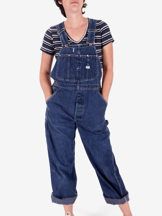 1960s Lee Denim Overalls