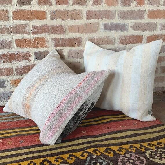 Turkish Kilim Rug Pillows