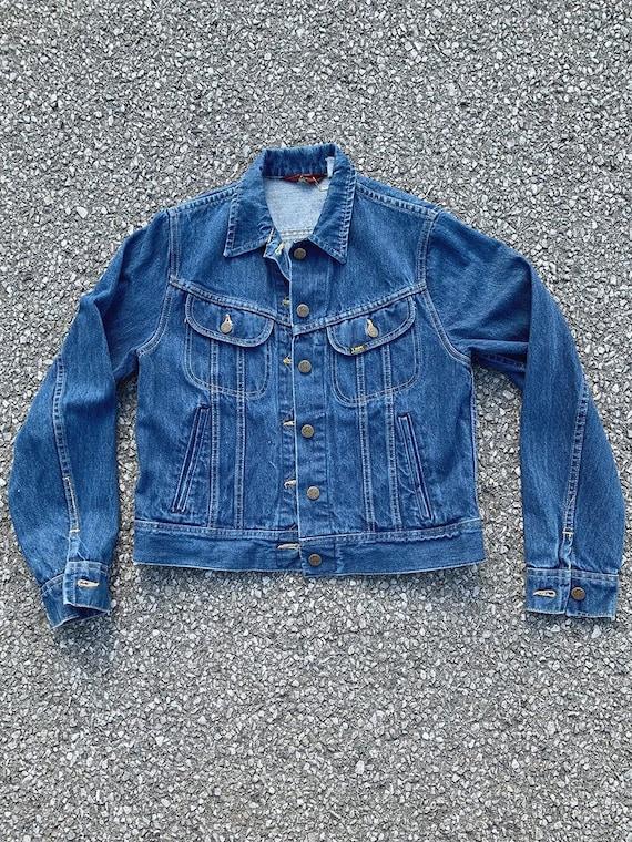 Lee Riders Dark Wash Denim Jacket