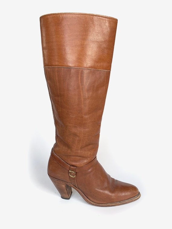 Frye' Light Brown Leather Boots