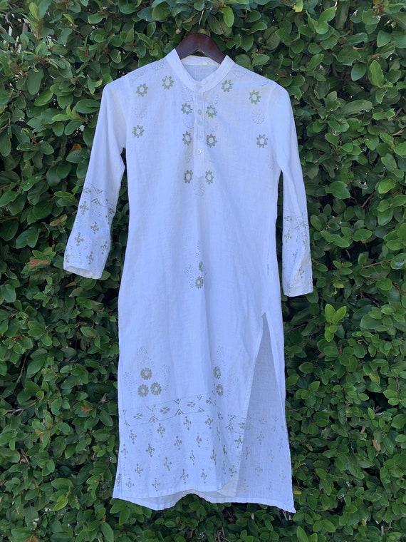 70's Cotton Tunic