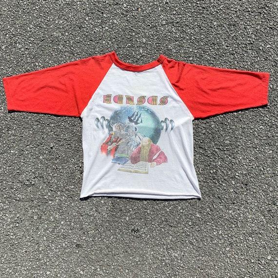 80's Original Kansas Band T Shirt