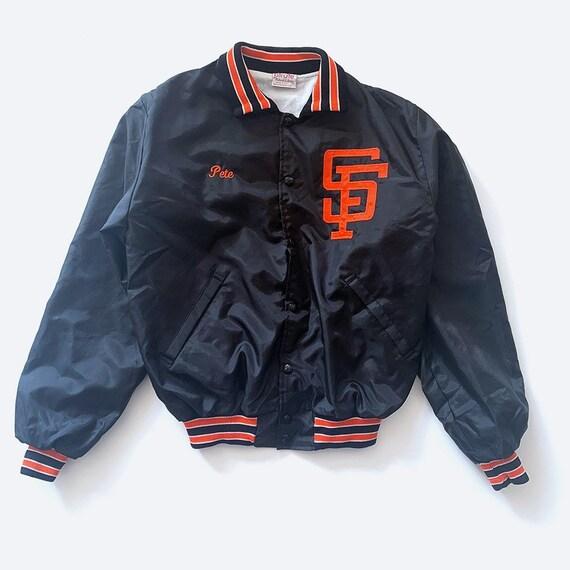 SF Giant's Satin Bomber Jacket